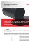 Heavy Fuel Oil, Feed Materials and Residues – Trustable Determination of High Nitrogen Contents in Viscose, Complex Matrices - Application Note