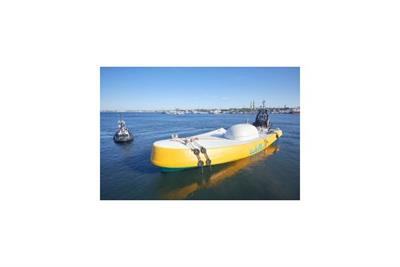Saipem sign commitment to deploy Wello?s new Penguin Wave energy converter.
