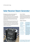Solar Receiver Steam Generator (SRSG) Brochure