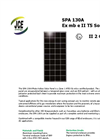 Model SPA series - Solar Photovoltaic Panels Brochure