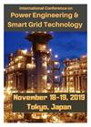 Power Engineering & Smart Grid Technology 2019 - Program Brochure