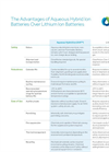 Learn About the Advantages of AHI Batteries Vs. Lithium Ion Batteries. Brochure