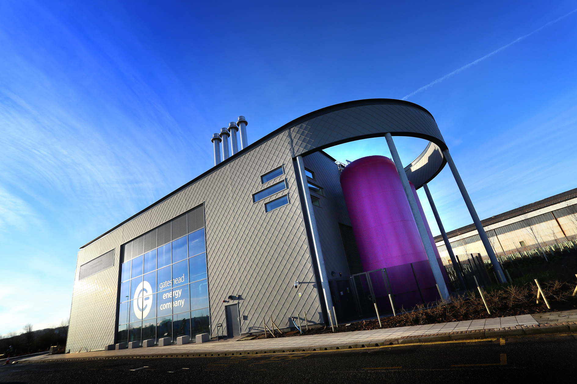 Award Winning CHP District Energy Scheme Brings Low Cost Energy to Gateshead-0