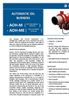 PBS - Model AOH-M Series - Automatic Oil Burners - Brochure