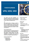 PBS - Model VPH, VOH, VKH - Power industry Burners - Brochure