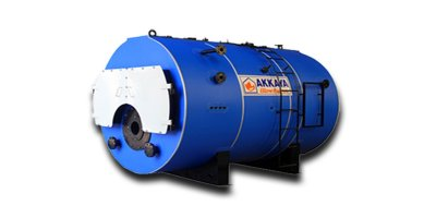 Akkaya - Model SBK - Scotch Type Three Pass Steam Boilers