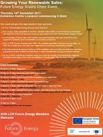 Growing your renewable energy sales - Future Energy Supply Chain Event