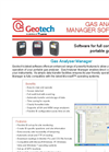 GAM Software for GA5000, GEM5000 and BIOGAS 5000 Portable Products Datasheet