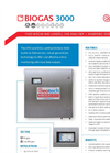 Geotech - Model BIOGAS 3000 - Fixed Biogas and Landfill Gas Analyser - Brochure