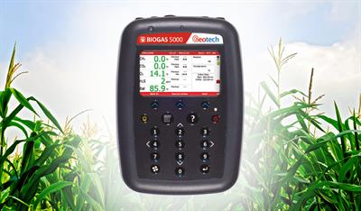 Geotech - Model BIOGAS 5000 - Portable Biogas Analyser