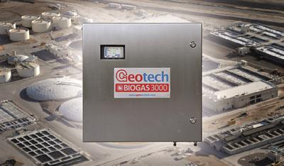 Geotech - Model BIOGAS 3000 - Fixed Biogas and Landfill Gas Analyser