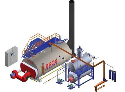 Brox - Model SYK series - SCOTCH Steam Boiler