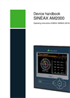 SINEAX AM2000 Instrument for Measurement and Monitoring of Power Systems - Operating Instructions