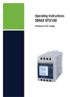 SIRAX BT5100 Transducer for AC voltage - Operating Instructions