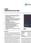 A2000 Multifunctional Power Meter - Technical Data