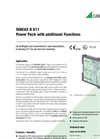 SINEAX B 811 Power Pack with Additional Functions - Data Sheet