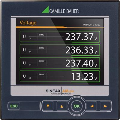 SINEAX - Model AM1000 - Instrument for Measurement and Monitoring of Power Systems