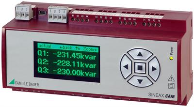 SINEAX - Model CAM - For Measurements in Electric Distribution Systems