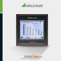 SIRAX - Model MM1400 - For Energy Measurement and Industrial Building Automation