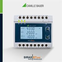 SIRAX - Model BT5400 - Transducer for Active, Apparent, Reactive Power, Phase Angle and Power Factor