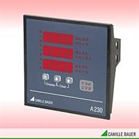 SINEAX - Model A230 - Multifunctional Power Monitor with System Analysis