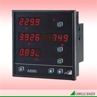 Model A2000 - Multifunctional Power Meter for 3-Phase Systems