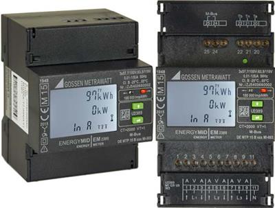 ENERGYMID - Model EM2281 ...EM2389 - Multifunctional Energy Meter