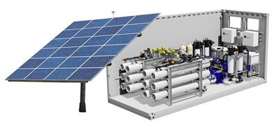 AquaPūr - Solar Powered Reverse Osmosis Water Plant