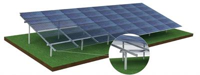 Aerocompact - Model GX - Ground Mounted Photovoltaic Systems