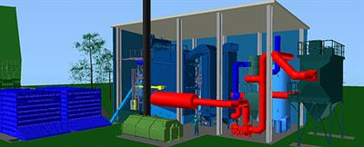 Bravo - Model 3 and 4 MW - Smaller Medium Size Predesigned Boiler System