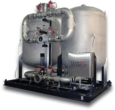Willexa - Twin Tower Siloxane Reduction Systems