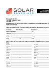Solar Power-Gen Conference & Exhibition 2013 - Exhibitor Booth Staff Registration Form